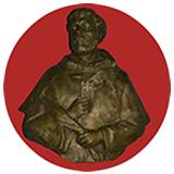 Imagen en bronce de San Pedro Armengol