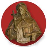 Imagen en bronce de la Beata Mariana de Jesús