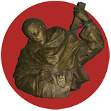Imagen en bronce de San Serapio